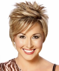 best short spiky hairstyle for american women