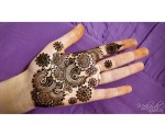 Beautiful henna patterns for wedding 2014