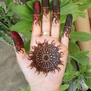 Beautiful indian mehndi designs 2014