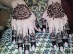 Beautiful mehndi patterns 2014