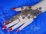 Easy mehndi designs 2014