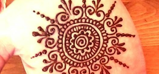 Easy mehndi designs for hands 2014
