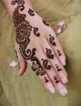 Easy mehndi patterns 2014