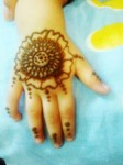 Kids mehndi designs for hands