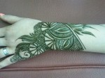 Latest henna patterns 2014