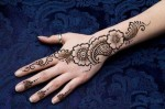Simple mehndi designs for girls 2014