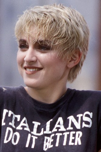 Madonna beautiful pixie hairs