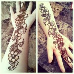 Mehndi patterns for pakistani girls