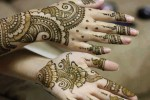 New henna patterns for wedding 2014