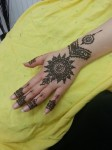 New mehndi patterns for girls
