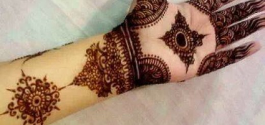 Simple mehndi patterns for Eid