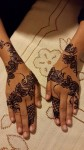 Simple mehndi for hands
