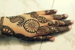 Styish arabic mehndi for Eid 2014