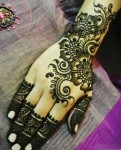 Stylish mehndi patterns for hands 2014