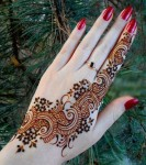 Stylish moroccan henna patterns for girls 2014-15