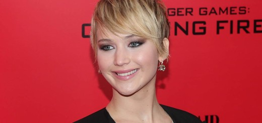 jennifer lawrence side swept pixie cut