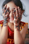 kids glitter mehndi designs