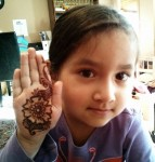 mehndi designs for kids 2014