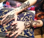 new mehndi designs for girls 2014