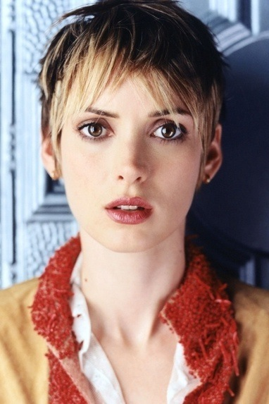 winona ryder pixie cut for women 2014