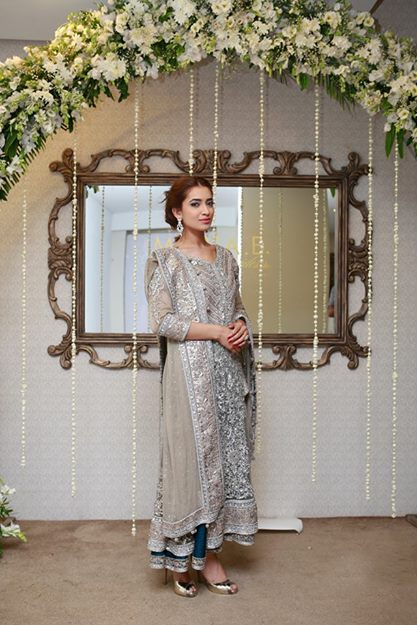 Maria B latest walima dresses 2014