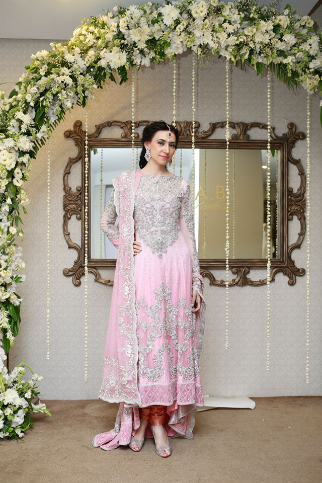 Walima dresses by Maria b 2014