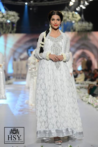 bridal designer frock designs by HSY 2014