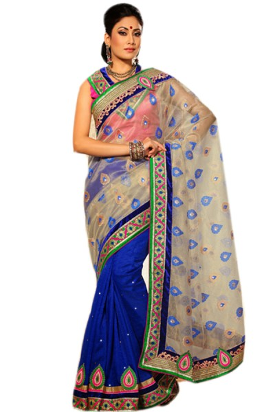 Indian Half Saree Designs_2