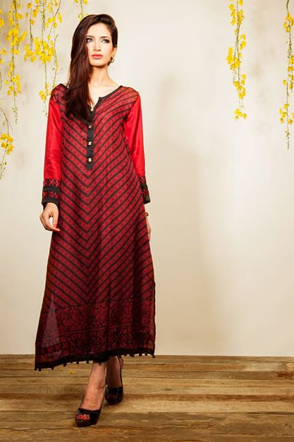 Pakistani Eid dresses collection 2014
