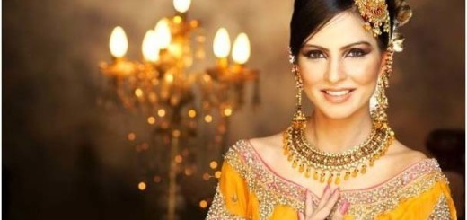Pakistani Wedding Hairstyles for Girls Pictures b
