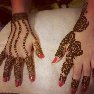 Simple yet cool mehndi designs
