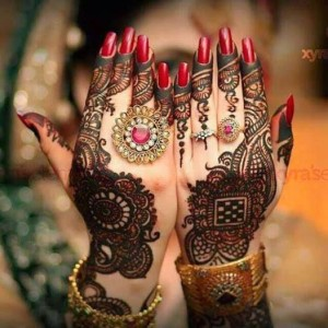 Bridal Mehndi Designs Arabic