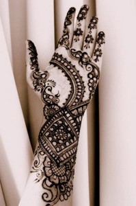 Mehndi for arms and hands