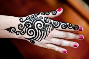 Glitter Mehndi Designs 2015 pictures