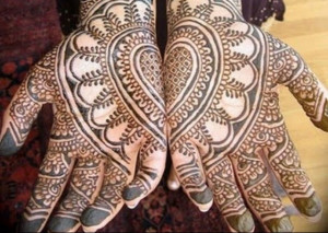 Arabian full hand mehndi designs