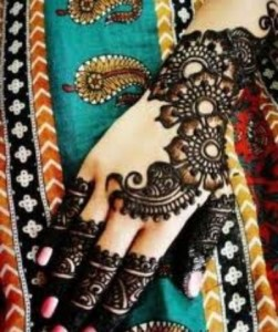 Simple Easy Mehndi Designs 2015