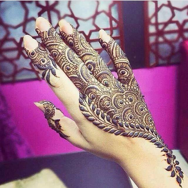 29 Best Wedding Body Paint Henna Images On Pinterest: 80+ Simple Arabic Mehndi Designs For Eid 2015