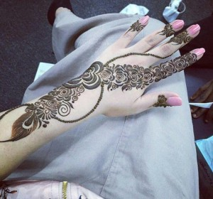 Best Mehndi Design 2015