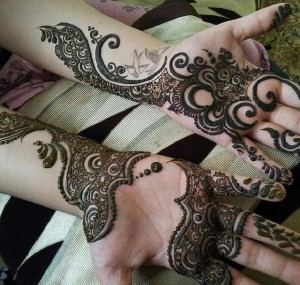 Mehndi for Eid 2015