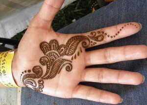 Easy Mehndi Designs 2015