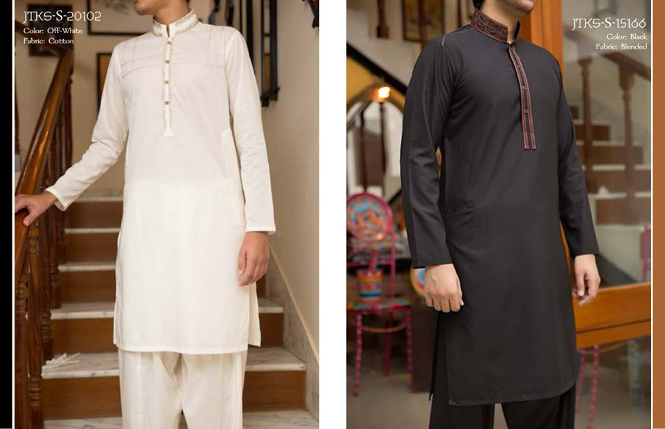 Junaid Jamshed Eid Kurta Collection 2015