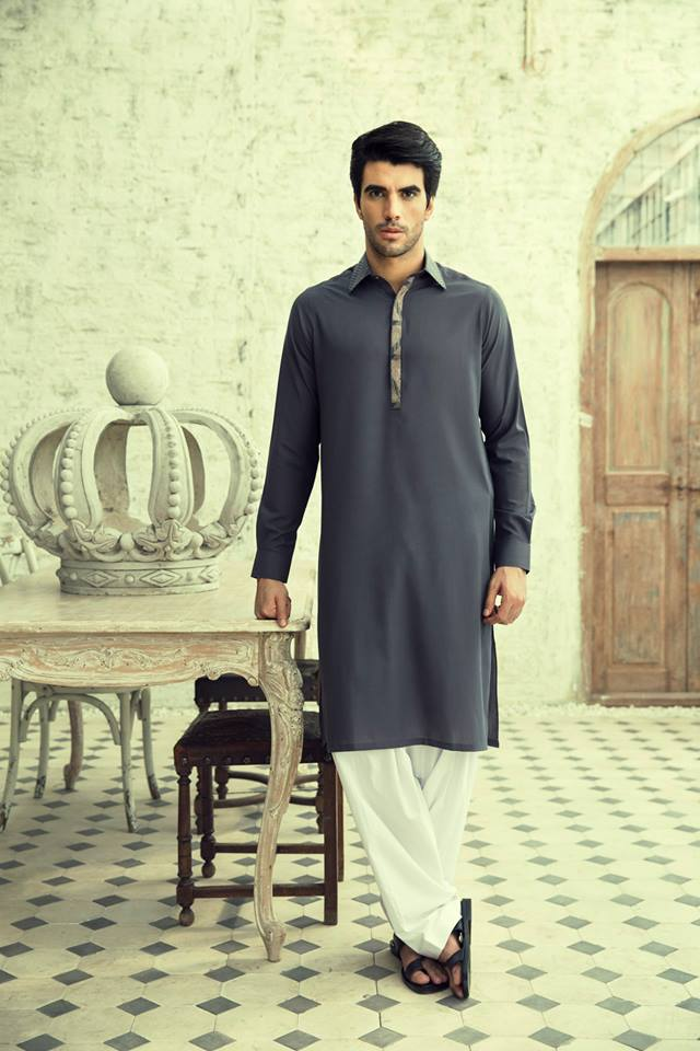 Latest Bonanza Kurta Designs for Eid 2015