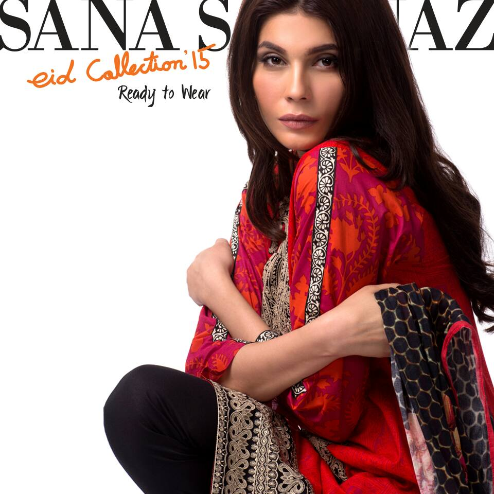Latest Casual Shalwar Kameez by Sana Safinaz