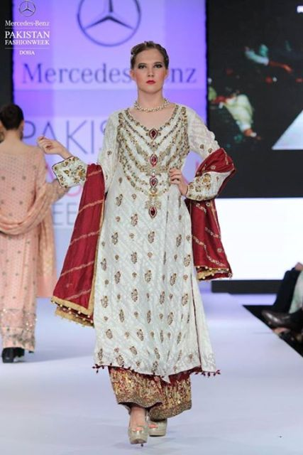 Pakistan fashion week formal dresses 2015