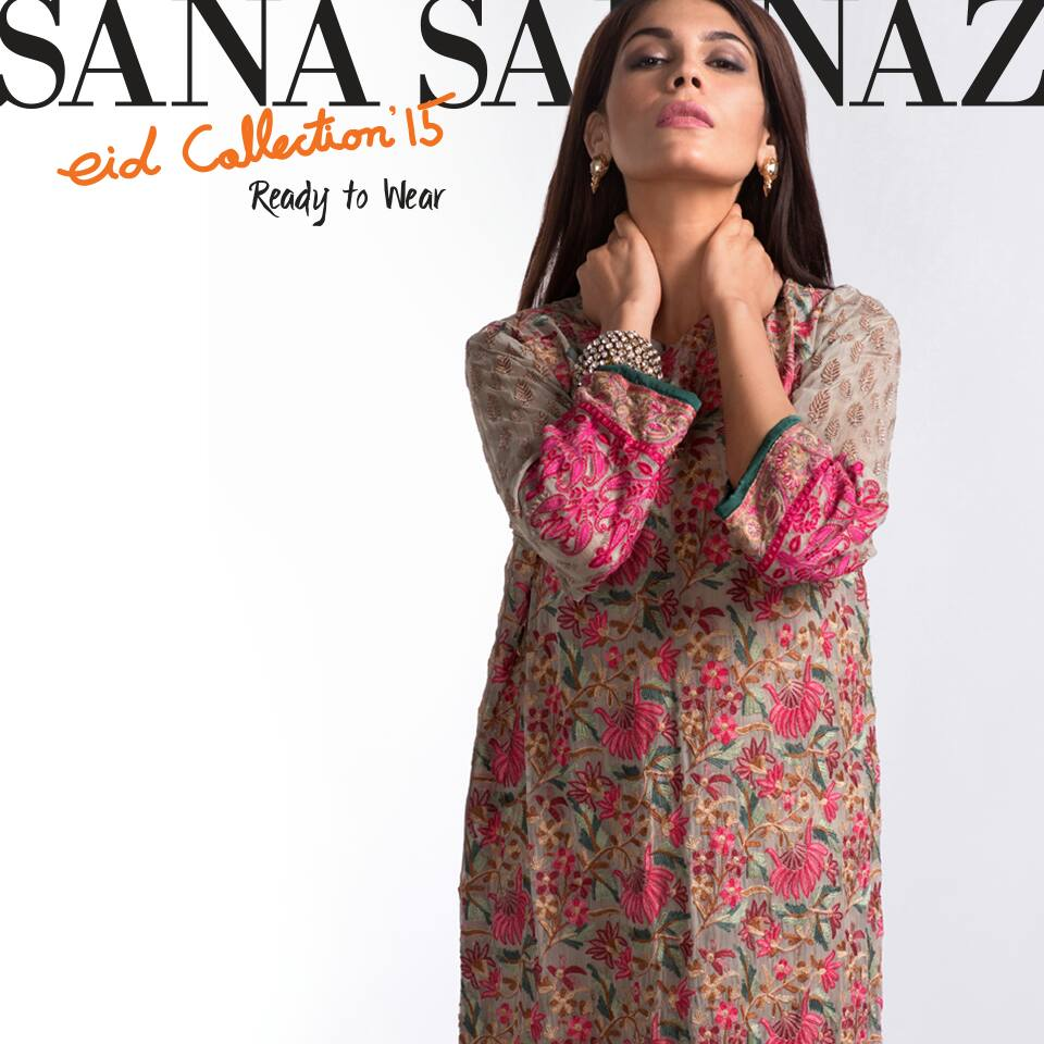 Party Wear Frock Designs by Sana Safinaz