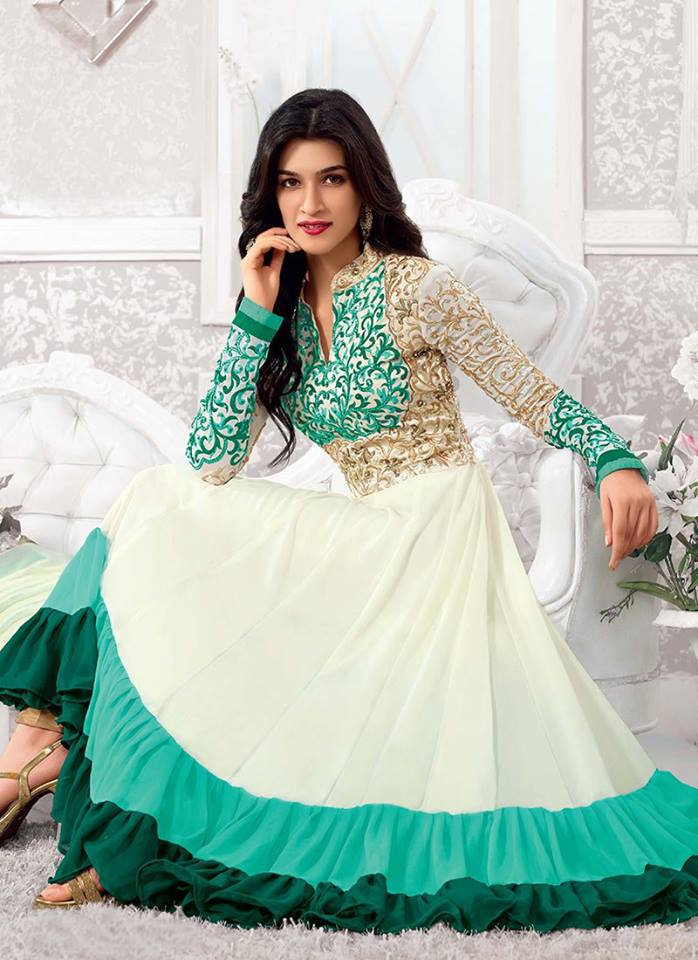Latest Party Wear Frock Designs For Girls 2015