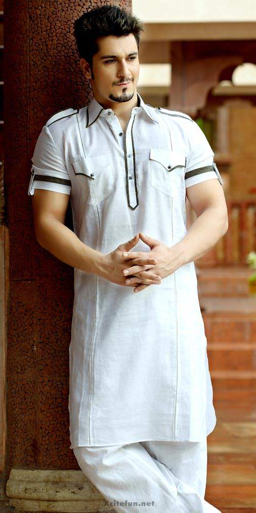 White Kurta Fashion for Eid ul azha 2015