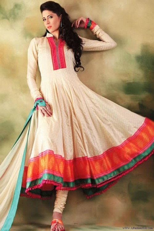 Winter frock designs for girls 2015